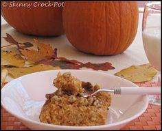 Crock pot pumpkin custard oatmeal 2C Oats 1t pumpkin pie spice ½t ...