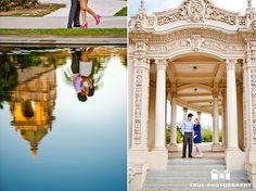 Balboa Park Engagement Photo Shoot / national wedding photographers