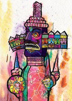Ravan + Illustration | Akash Raj Halankar