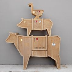Cow Sending Animals Wooden Furniture & Seletti | YLiving