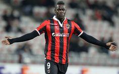 Hämta bilder Mario Balotelli, fotboll stjärnor, Ligue 1, fotboll, Nice