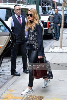 Olivia Palermo seen out in SoHo on April 28, 2016 in New York City.