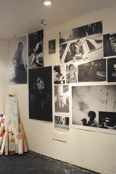 A wall of an exhibition of The Photography Club! Xerox heroes.