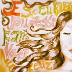 """ilustração; canção """"Morena"""", banda Scracho;  Daniela Farias"""
