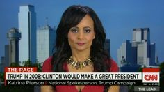 Trump spokesperson tells Shannon Watts off. Bad as I want to see Trump hit a 5% poll, this woman owned Bloomberg's paid for woman.