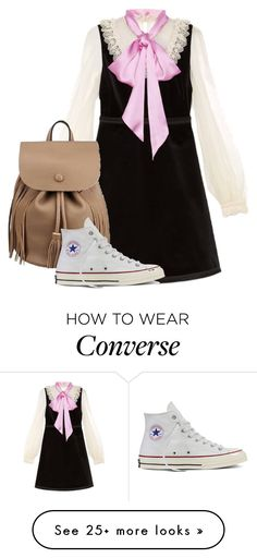 """Dress code 🙄"" by h3llo6 on Polyvore featuring Gucci and Converse"