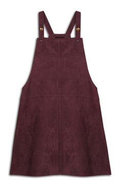 Primark - Wine Pinnafore Dress