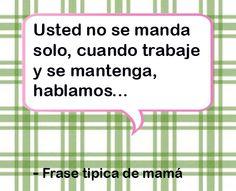 Cada #mamá es una pieza original y así como son únicas, también lo son sus #frases #tiendalagloria like si te lo dijeron alguna vez