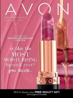 Welcome to my online Avon Store! The new True Colour Supreme Nourishing Lipsticks are out. Try them now, I have samples available!