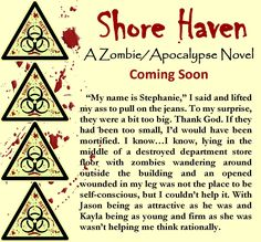 I am still on track to finish Shore Haven this week. I don't think my current chapter will be the last, but I'm positive it is next to the last. I may also add an epilogue. I'm at the 91,000-word count. I thought this would be my longest piece, but I think Alone and book 3 of my supernaturals series are between 93,000 and 95,000 words. Enjoy this snippet from the novel. #shorehaven #wip #zombie #apocalypse #jenniferreynolds