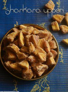 Sharkara Upperi,Sarkara Varatti Upperi,Banana chips with jaggery - Sharmis Passions Homemade Breakfast, Best Breakfast Recipes, Indian Snacks, Indian Food Recipes, Kerala Recipes, Oats Recipes, Dessert Recipes, Desserts, Paniyaram Recipes