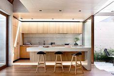 The Kitchen - Beach Ave by Schulberg Demkiw Architects. Photo: Derek Swalwell.
