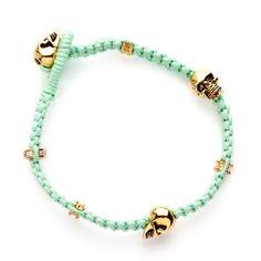 Mint Skull Bracelet by Elkin