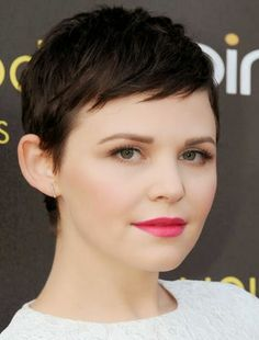 Ginnifer Goodwin Cute Short Hair With Bangs Hairstyle Bangs%25252520Shor