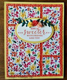 Garden Impressions Designer Series Paper, Detailed with Love