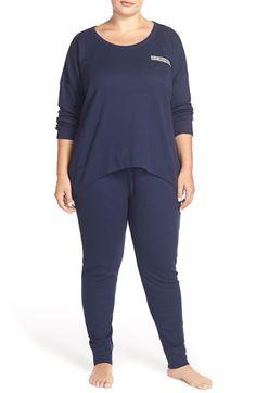Lucky Brand Thermal Pajamas (Plus Size)