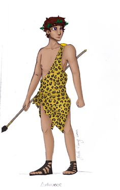 Greek God: Dionysus by JadeAriel.deviantart.com on @deviantART