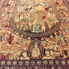 Silk rug with royal history Niavaran Palace Tehran, Iran Iranian Rugs, Iranian Art, Cost Of Carpet, Rugs On Carpet, Persian Carpet, Persian Rug, Aubusson Rugs, Purple Carpet, Rugs