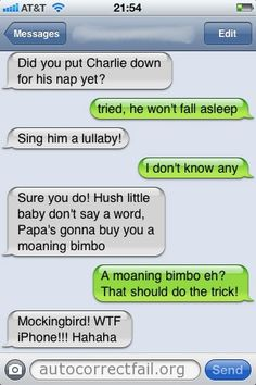 Popular Autocorrect Fails | Autocorrect Fail - Hilarious Auto Correct blunders and funny texts and messages from your mobile phone!