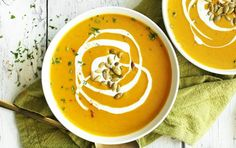 7 Satisfying Fall-Inspired Soups Under 350 Calories