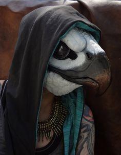 Osprey mask by ~missmonster (src = http://missmonster.deviantart.com/gallery/#/d51o3hf)