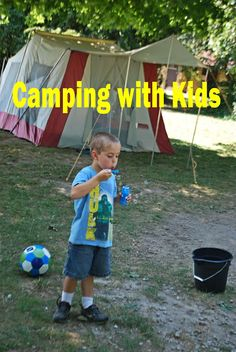 Toys/activities to bring for kids camping