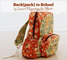 SewCanShe features a new free sewing pattern every day - perfect for beginners and experienced sewists. Visit daily for free sewing tutorials and patterns. Love Sewing, Sewing For Kids, Sewing Patterns Free, Sewing Tutorials, Bag Patterns, Free Tutorials, Free Pattern, Diy Sac Pochette, Back To School Backpacks