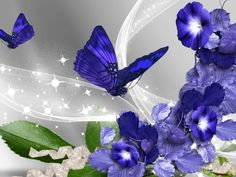 Good morning sister and yours, have a nice Friday and a good weekend,God bless, 😁🌷🌞💞💕. Blue Butterfly Wallpaper, Butterfly Flowers, Flower Wallpaper, Beautiful Butterflies, Wallpaper Backgrounds, Butterflies Flying, Colorful Wallpaper, Phone Backgrounds, Beautiful Flowers