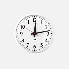 Shop Handcrafted, High Quality Iconic Wall Clocks such as the IBM Clock, Sweeping Hand Clock and Brass Case Kennedy Clock. Shop your Perfect Wall Clock Now! Home Clock, Schoolhouse Electric, Artist Loft, American Manufacturing, Old Bricks, Easy Wall, 1960s, Warehouses, Offices