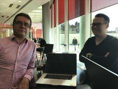 Meeting with Lawrence Reid and Stefan Misteli from Binary Alpha, www.binaryalpha.org & http://swisstradingguy.ch