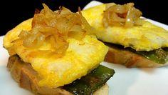 Cocinar para los amigos: Pintxo de merluza con pimiento y cebolla