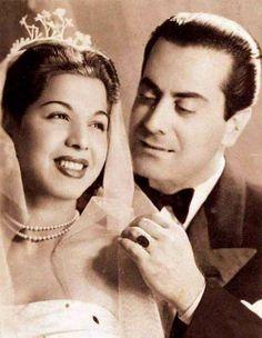 Samia Gamal and Farid Al-Atrash.