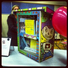 A little free library by Dean Stanton at Calgary Reads Ilovestanton.com Little Free Libraries, Free Library, Wedding Ideas Calgary, Dean Stanton, Team Building, Arcade Games, Art, Art Background, Kunst