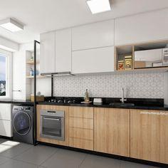 Home Decor Quotes .Home Decor Quotes Luxury Kitchen Design, Kitchen Room Design, Home Decor Kitchen, Kitchen Interior, Home Kitchens, Black Kitchen Countertops, Kitchen Cabinets Decor, Small Apartment Kitchen, Studio Kitchen