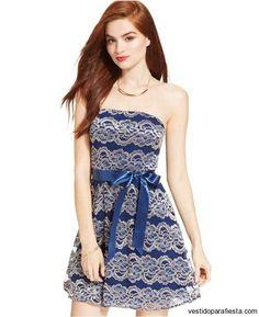 Juveniles vestidos cortos strapless de encaje para fiesta 2015 – 23 - https://vestidoparafiesta.com/juveniles-vestidos-cortos-strapless-de-encaje-para-fiesta-2015/juveniles-vestidos-cortos-strapless-de-encaje-para-fiesta-2015-23/