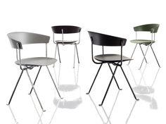 OFFICINA | Polypropylene chair Officina Collection By Magis design Ronan & Erwan Bouroullec