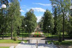 Snellmann's Park Kuopio, Finland AR