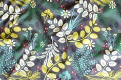 Very Cherry herbs - available as fabric on www.spoonflower.com