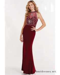 2017 Alyce 1162 Long Prom Dresses with Halter Neck
