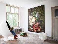 Rijksmuseum behang - Stilleven met bloemen