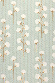 Sweet Cotton | Novidades em papel de parede | Padrões de papel de parede | Papel de parede dos anos 70