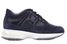 493268042d3 Frmoda.com - Hogan Women s shoes suede trainers sneakers new interactive  Zapatillas Deportivas
