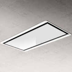 Hotte plafonnier finition blanc HILIGHT Elica PRF0146246 | Cuisissimo Hotte Design, Strip Led, Sheet Pan, Eco Participation, Zoom, Terracotta, Air Max, Products, Sage Green Kitchen