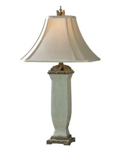 Uttermost 26625 Media Gallery  Reynosa Table Lamp  Light Blue Gray Wash  LightingDirect