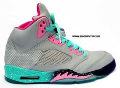 """The """"South Beach"""" theme has died down just a little bit in popularity, as it's not too terribly often that we see that pinked out look hit on a pair of sneakers these days. Utilizing the closely related """"Miami Vice"""" … Continue reading →"""