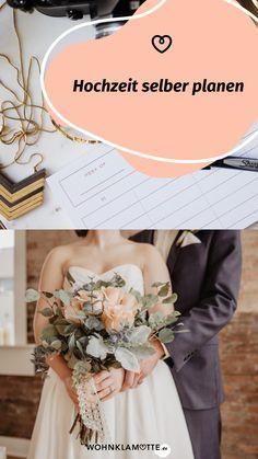 Für eine einmalige Traumhochzeit braucht es die perfekte Planung. Wir haben eine Hochzeitscheckliste für Dich, mit deren Hilfe Du alle Deine Hochzeit selber planen kannst, sowie inspirierende Ideen und Tipps von einem Hochzeitsprofi findest. Trends, One Shoulder Wedding Dress, Wedding Dresses, Fashion, Perfect Wedding, Celebration, Invitations, Bridle Dress, Tips