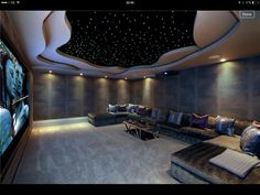 Gorgeous cinema rooms