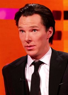 Benedict Cumberbatch. The man oft accused of taking himself too seriously can take me, too. Seriously.