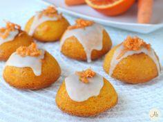 Camille - Mini Carrot Cake - buonissime e ricche di vitamine ACE,dolci e golose, perfette per i bambini, ma carinissime da servire con il tè del pomeriggio.