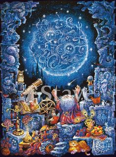 Stave Puzzles: Astrologer
